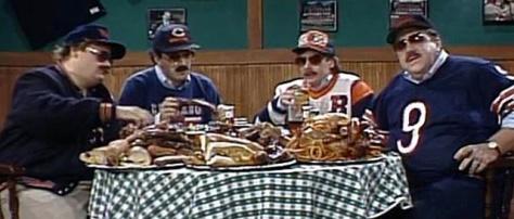 Thank you SNL for Da Bears, Da Bears, Da Bears...