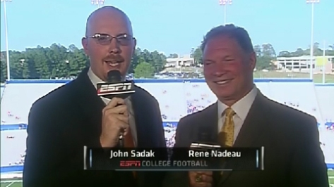 Courtesy of ESPN. Sadak is the one on the left labeled John Sadak.