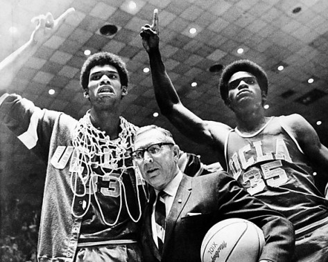 COACH WOODEN AND HIS NCAA GIANTS
