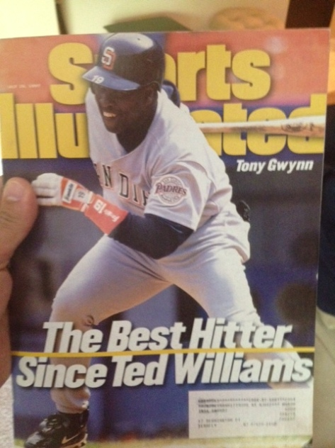 Found this rummaging through my Yankees/ Tony  Gwynn collectibles box moments after hearing the news. And it is still true.