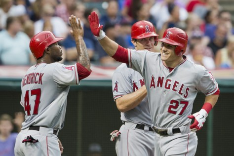 Mike+Trout+Los+Angeles+Angels+Anaheim+v+Cleveland+BL94xszYjYil