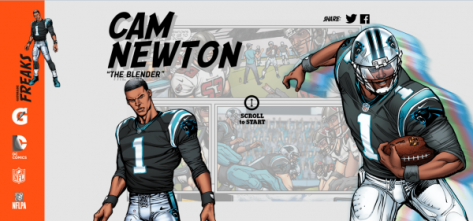 Courtesy of the Gatorade Superhero collection. Awesome!