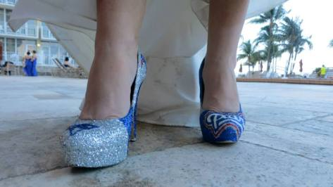 pats shoes close up