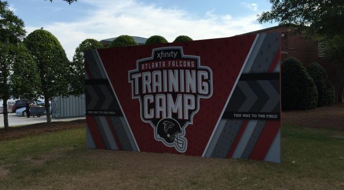 Live from Atlanta Falcons training camp