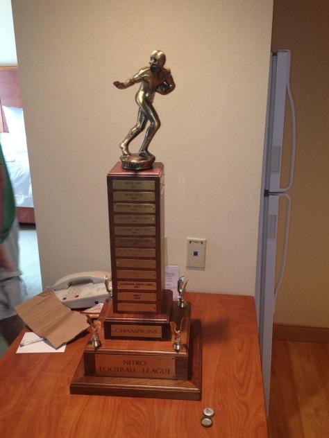 The Nitro League Championship Trophy