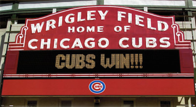 Go Cubs Go!!! Today's random thoughts