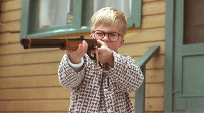 The Texans J.J. Watt, a Red Ryder BB Gun and an overreaction