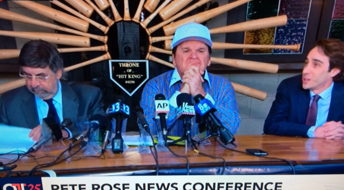 The Reign of the MLB Hit King: Pete Rose still banned