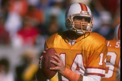 I believe Vinny Testaverde translates to Vinny Green Nuts (Photo cred: Getty Images).