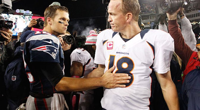 NFL Playoffs: Brady Manning Bowl XVII… and all is well in the NFL