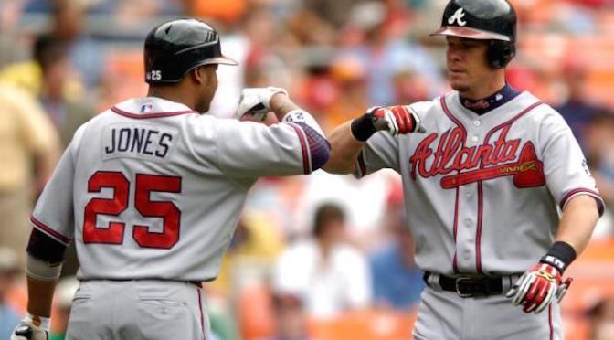 The Atlanta Braves and #25