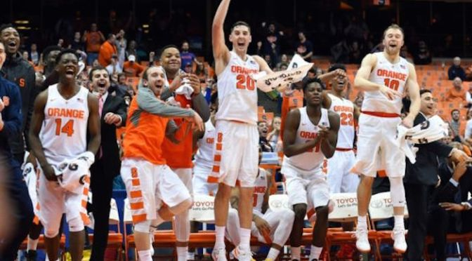 Madness at its truest: the Syracuse Orange are in the Elite 8
