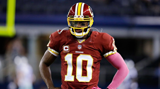 RGIII joins the Dawg Pound