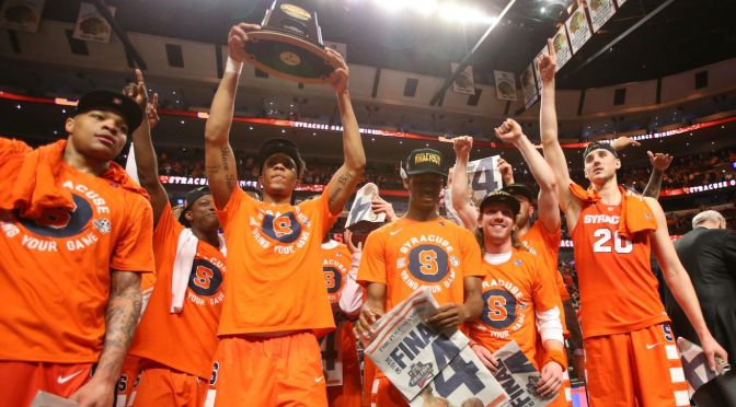 March Madness indeed: Orange keep dancing to the Final Four