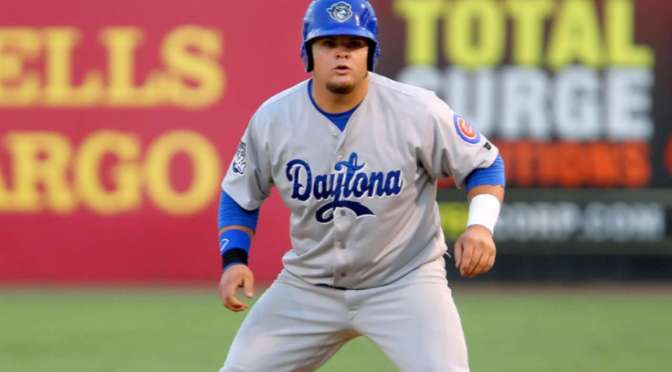 Dan Vogelbach and Christian Walker: two prospects searching for a home