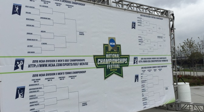 Reflections from the NCAA DII Festival in Denver, Colorado