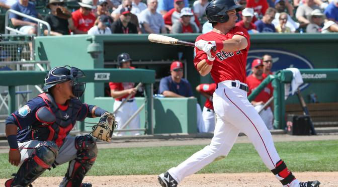 MLB Futures Game: World Team Outfield